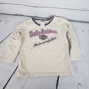 Harley Davidson girls shirt 3T
